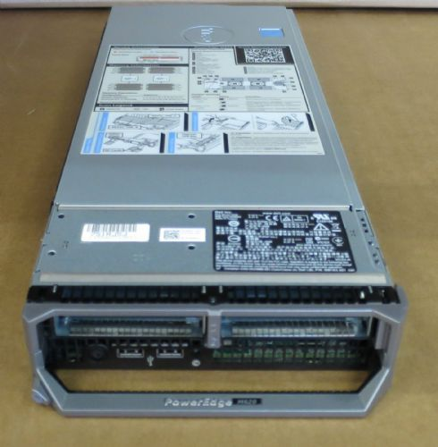 Dell PowerEdge M620 Blade Server 2x Eight Core E5-2670 2.6GHz 256GB 2x 146GB HDD